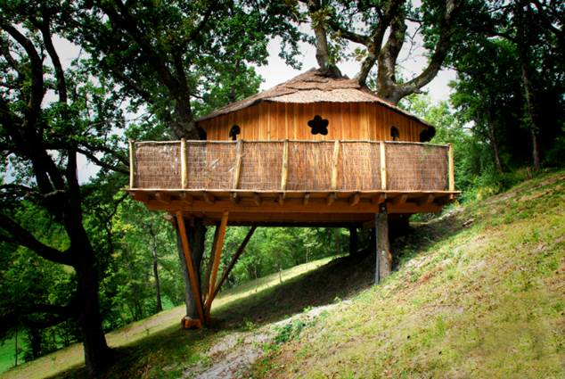 Cabane des Lutins - Brassac - Tourisme Tarn-et-Garonne
