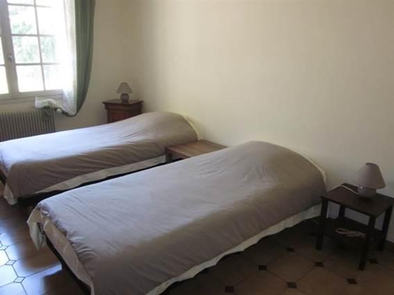 Gite de St Alary chambre twin