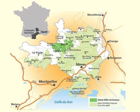 Randonnée en Cévennes autour d'Alès et Saint-Jean-du-Gard