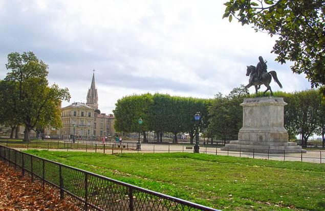 Montpellier Jardins du Peyrou