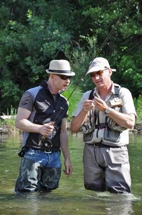 moniteur guide de pêche