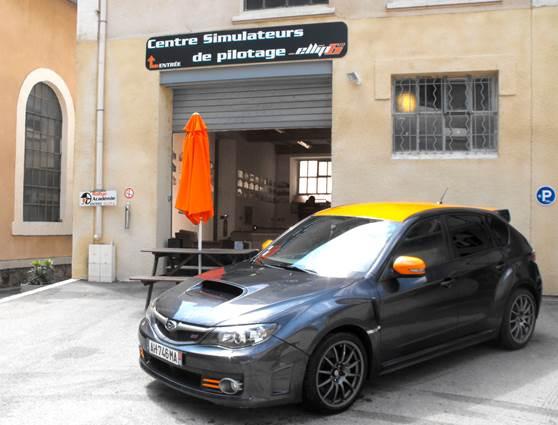 Rallye académie pilotage sur simulateur