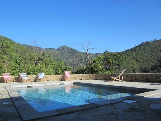 La piscine, avec vue panoramique