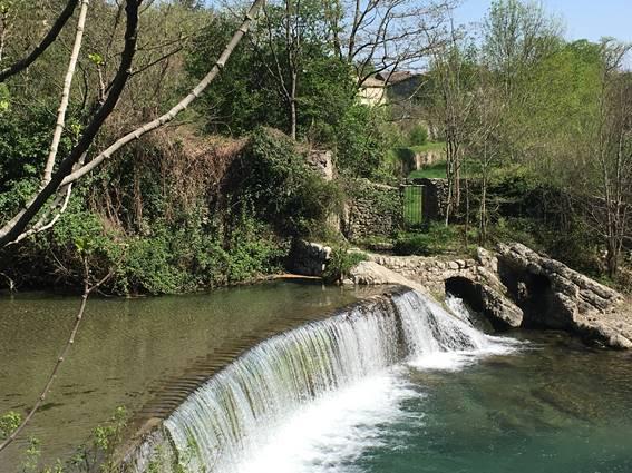 cascade du Vidourle