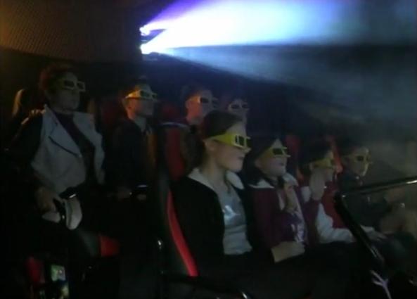 Cinéma 7D - Village des enfants