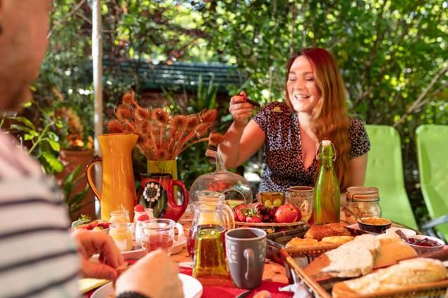 Petit déjeuner le Portel des Arnaud - DURFORT (Gard)-photo aspheries