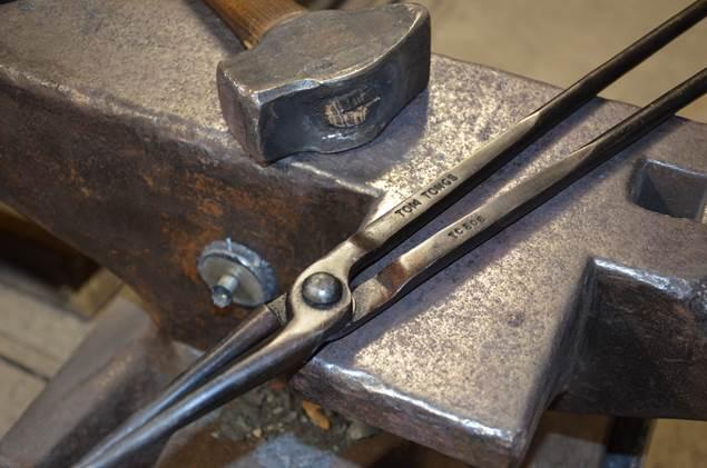 Les outils du ferronier