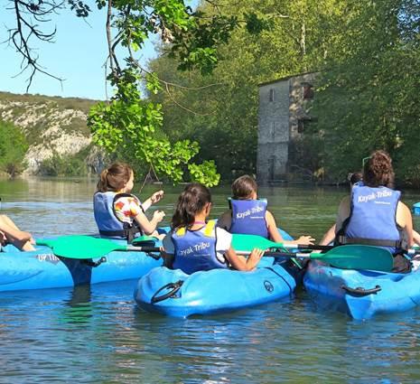 Kayak Tribu enfants