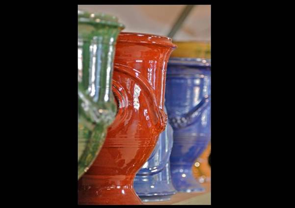 Vase d'Anduze Rouge