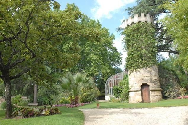 Jardin la Tour vieille Alès