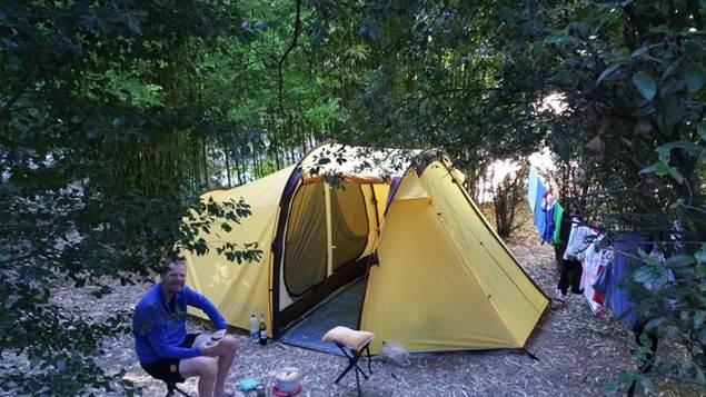 Tente au Camping les Sources