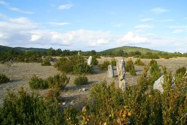 Causse de Blandas dans le Gard
