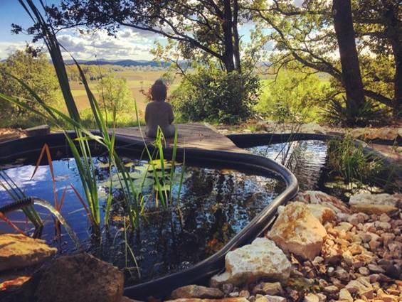 petit boudha admirant le paysage