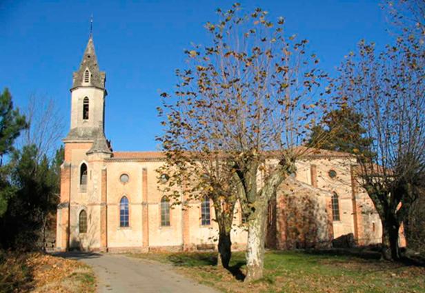 La Vernarède - église