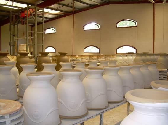 Vase d'Anduze - Enfants de Boisset