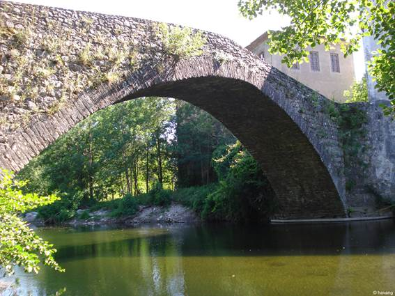Voie Régordane - Chamborigaud Pont de Rastel