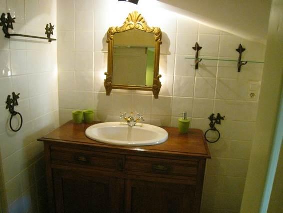 Gite La Clede location Anduze Gard salle eau enfants