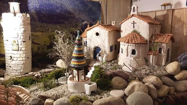 Exposition de crèches et village de santons