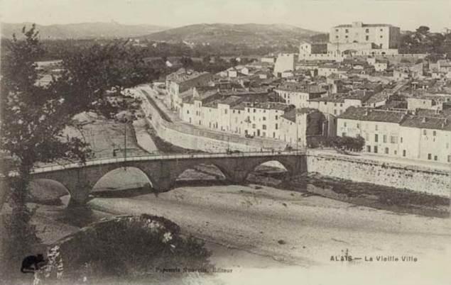 fort-vauban-carte-postale-ancienne-alais