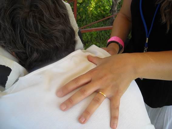amma pause bien être détail massage