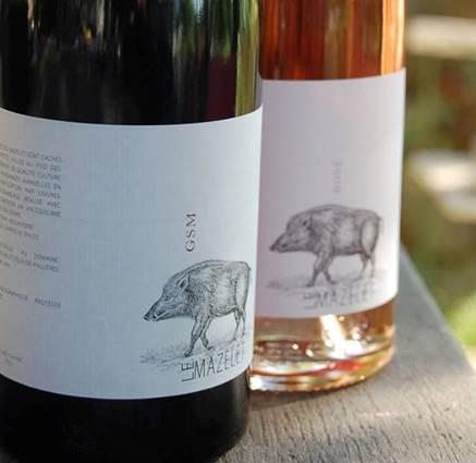 Vigneron Le Mazelet vin des Cévennes