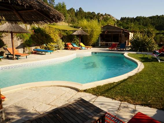 Gite La Clede location Anduze Gard piscine