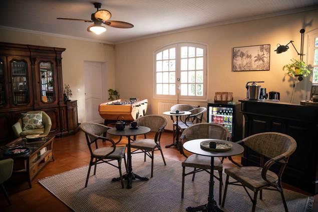 Espace salon de thé