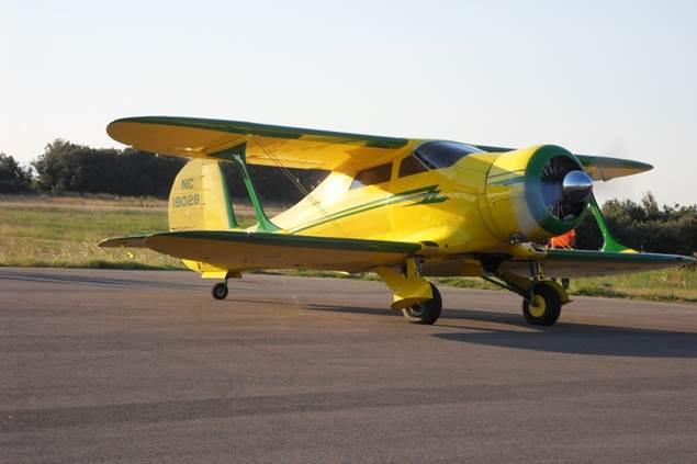 Aéroclub d'Alès et des Cévennes - avion sur la piste - Deaux