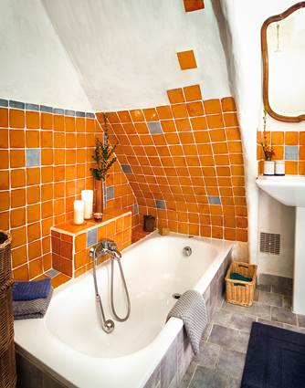 chambre orange la vieille maison durfort