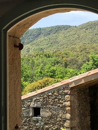 Vue sur le Mont Brion