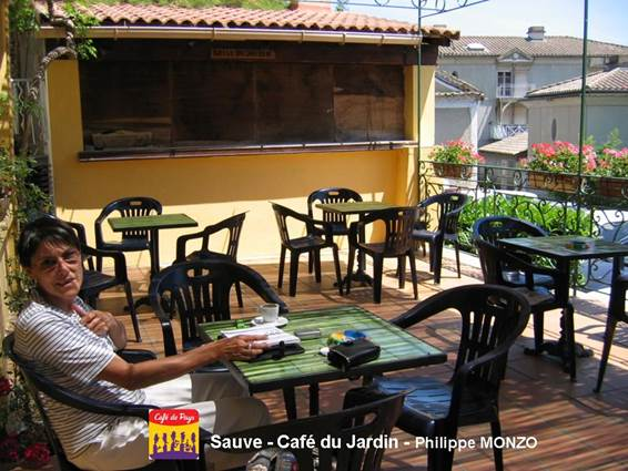 Café du Jardin terrasse