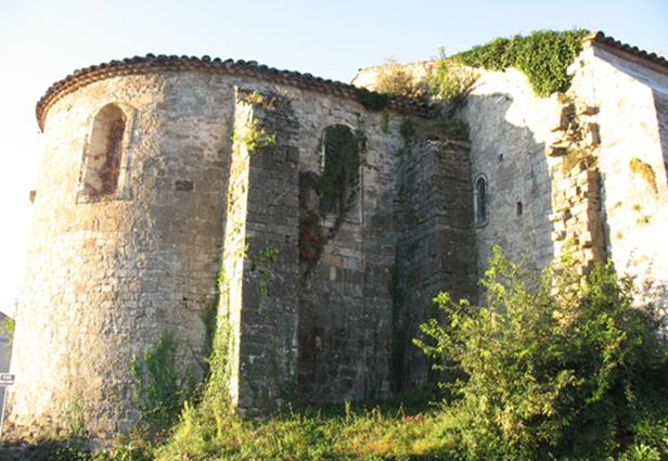 Cendras - l'abbaye