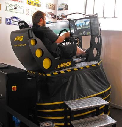 Simulateur de conduite Rallye Académie