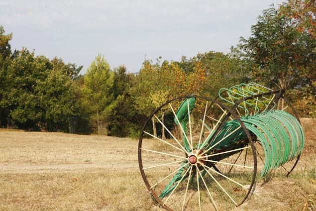 Petit camping sur une ancienne ferme