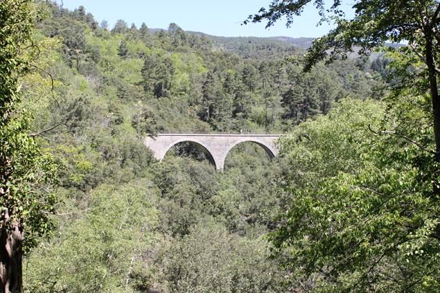 Viaduc Sentier de Chamdomergue