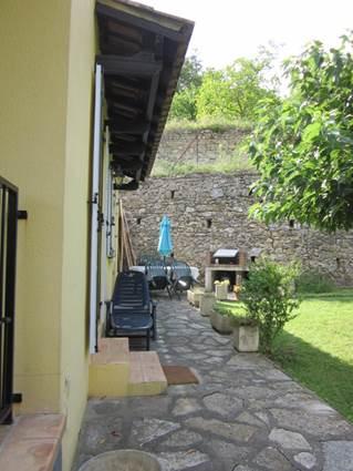 Gite de St Alary terrasse
