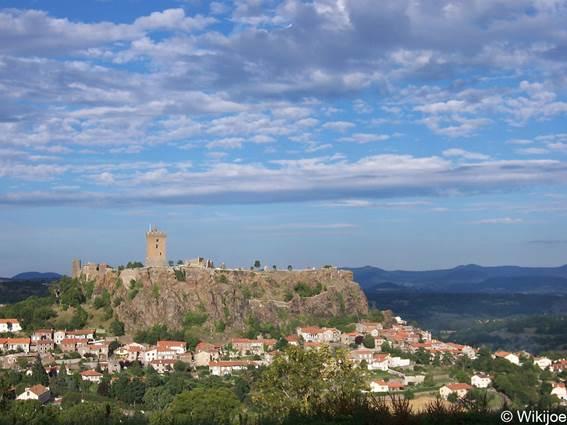 Voie Régordane - Château de Polignac