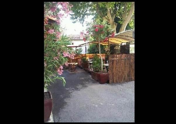 Restaurant L'Escapade terrasse extérieure