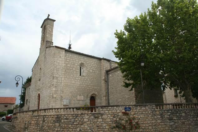 Saint-Privat-des-Vieux_eglise_vue_générale_©Fagairolles 34
