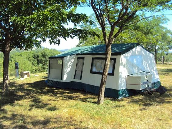 Mas Cauvy camping en Cévennes