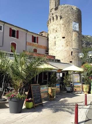 Les Templiers restaurant à Anduze en Cévennes