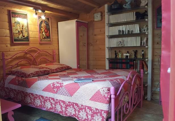 chambre cabanon rose
