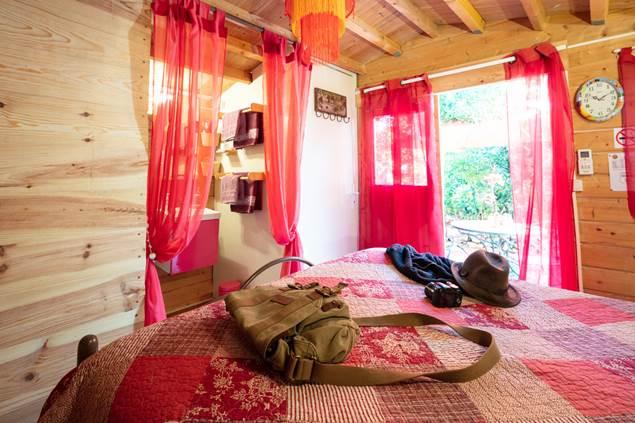 le Portel des Arnaud - DURFORT (Gard)-photo aspheries chambre avec jardin
