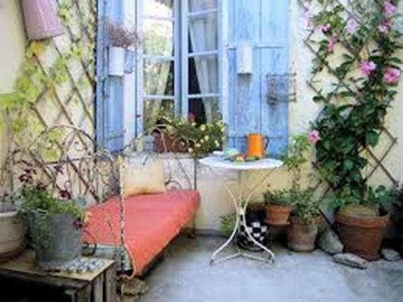 Chambre jardin