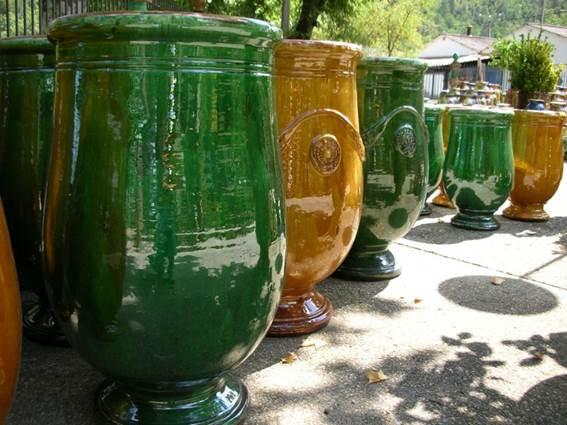 Vase d'Anduze Enfants de Boisset