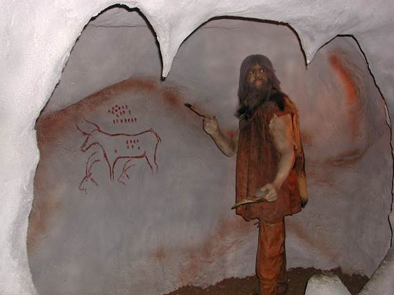 Préhistorama hommes des cavernes