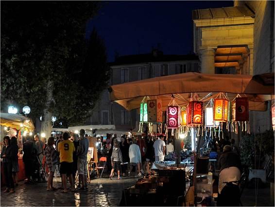 Marché Nocturne d'Anduze