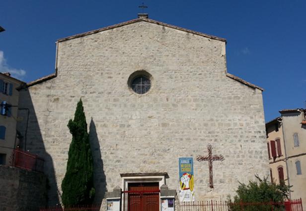 Ville d'Anduze : église
