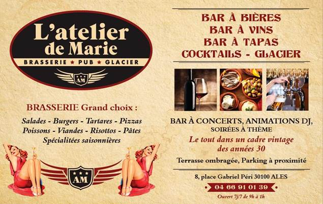 Brasserie L'Atelier De Marie - ALES