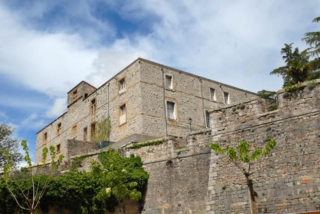 Fort Vauban Alès - Jardin du bosquet